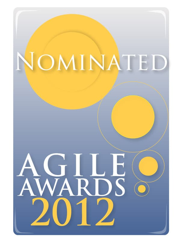 2012 Agile Awards nomination logo