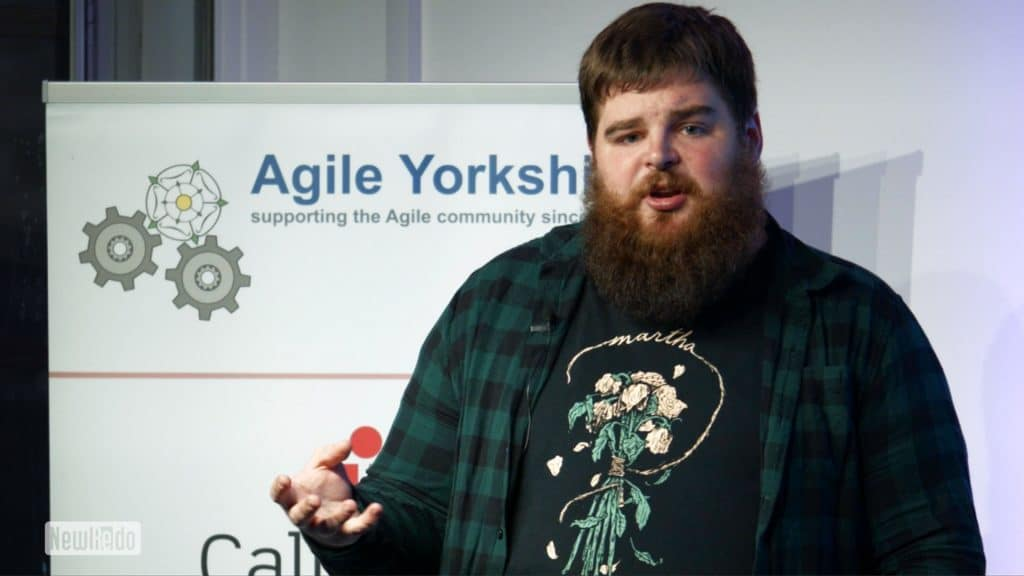 John Lynas at Agile Yorkshire