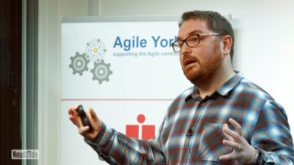 Jon Fulton at Agile Yorkshire
