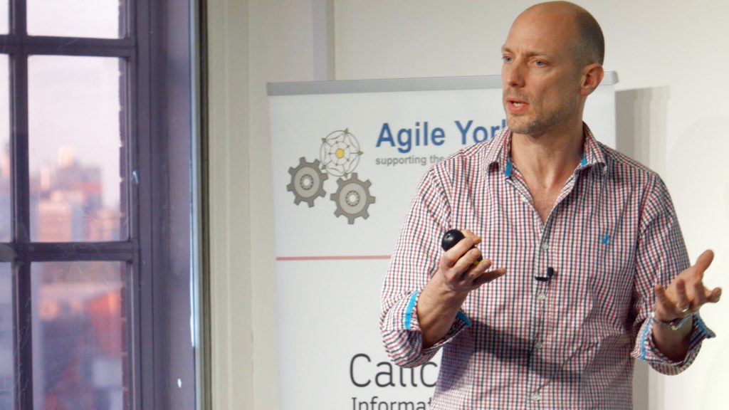 Tony Heap at Agile Yorkshire