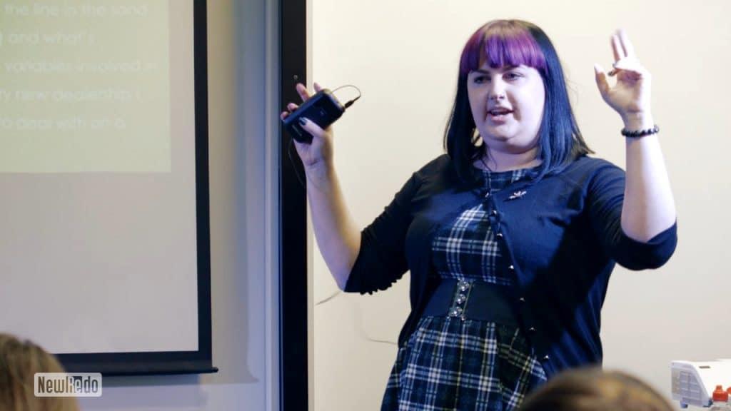 Jessica Drakett at Agile Yorkshire